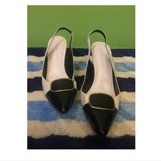 charles and keith sling back size 8