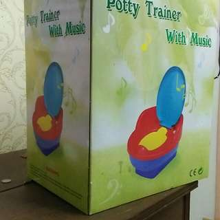 Potty Trainer with music Sweet Cherry