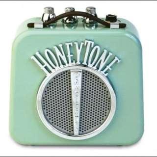 全新 美國 Danelectro 復古小音箱 復古綠 適合吉他 聽音樂 播放音樂使用