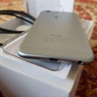Iphone 6 128gb Space Gray Fullset Mulus