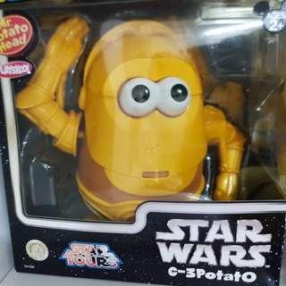 Mr.Potato Head 薯蛋頭先生 toy story 反斗奇兵