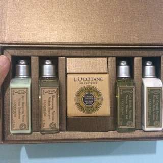 Travel Kit L'Occitane Loccitane