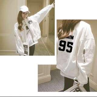 [Free Shipping]BTS-themed Baseball Jacket Thin Good Material