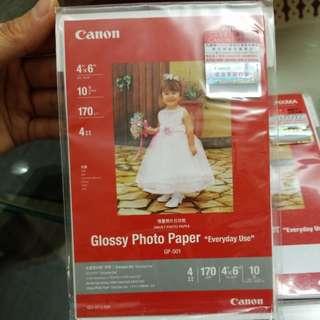 """(包郵)Canon4""""x6""""相紙兩包"""