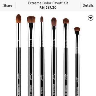 Sigma Extreme Color Payoff Brushes #take10off