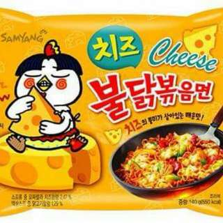 Spicy Korean Cheese Noodle (2x)