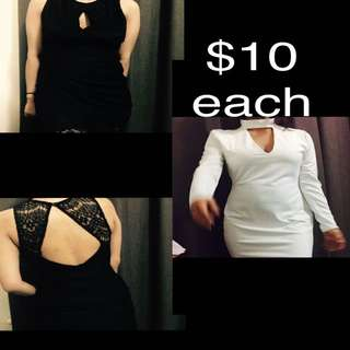 Womens Casual Dresses $10 each