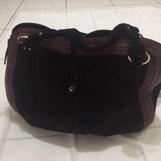 Suede Women Bag