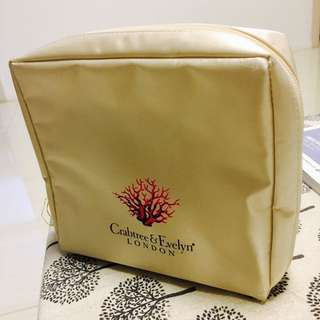 CrabTree & Evelyn Toiletries Pouch