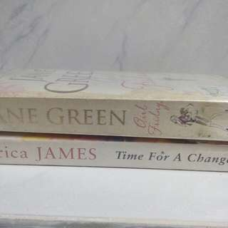 Jane Green and Erica James set