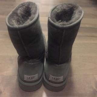 Grey Tall UGG Boots
