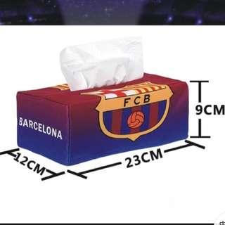 Soccer Team Tissue Box Cover