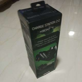 Xbox one charging station and 2 battery packs