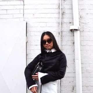 Zara Flare Sleeve Top
