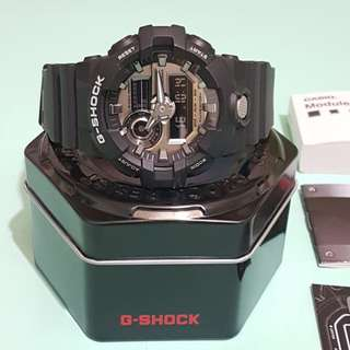 Black G-shock Watch Model GA-710