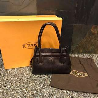 Preloved TODS D-Bag small tote