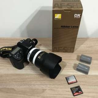 Nikon D300 + Nikon 17-55mm f2.8