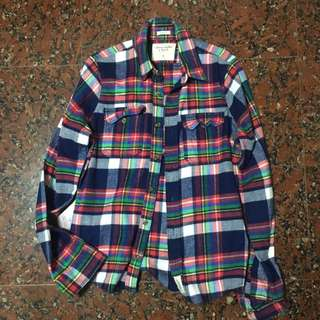 Abercrombie Fitch flannel