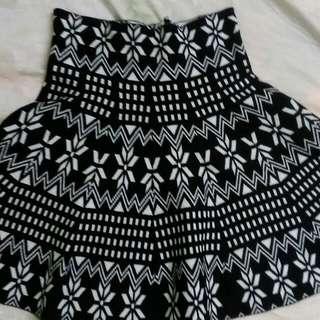Reversible Mini Skirt