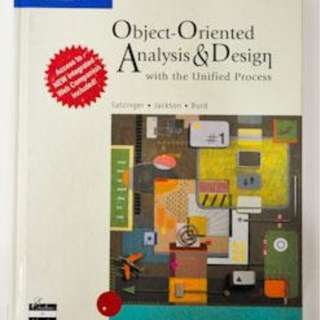 Object-Oriented Analysis and Design with the Unified Process (John W. Satzinger..)