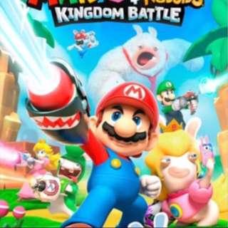 Mario & Rabbid Switch 中英文版