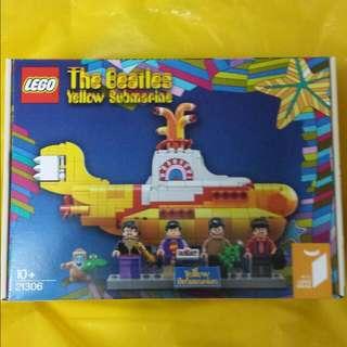 Lego Yellow Submarine The Beatles