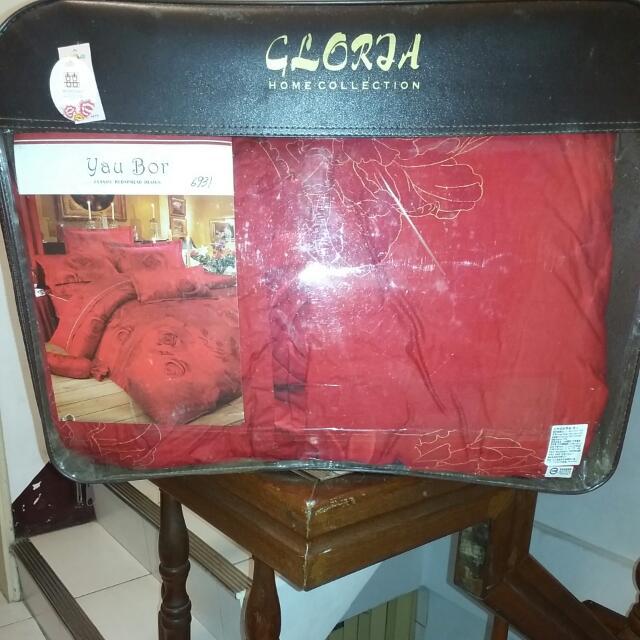 品牌玫瑰床罩5件組/一般尺寸很討喜有裙子優
