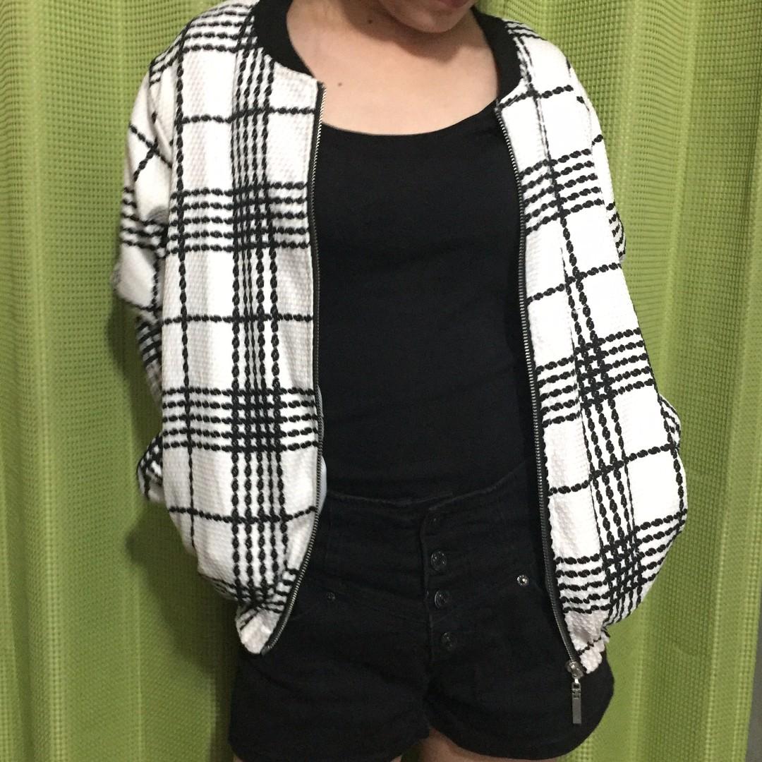 格子外套(含運)