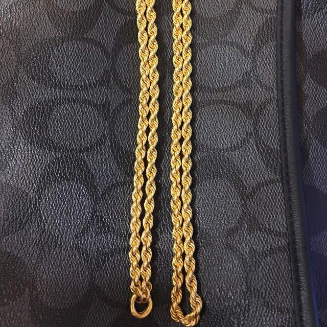 二兩純金項鍊