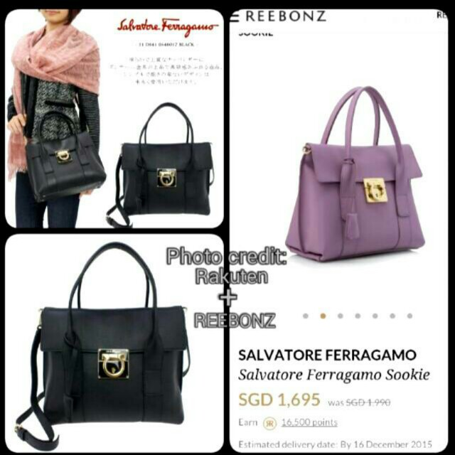 a0854885ee 🔱 BNIB Full Set - Ferragamo Flap Satchel with Detachable Sling ...