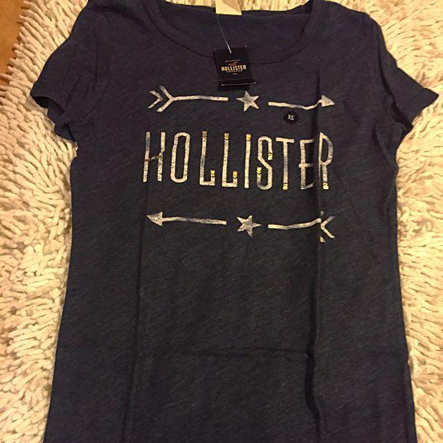 美國代購 hollister 女 Logo Tee XS