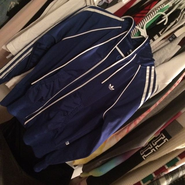 Adidas full zip sweater