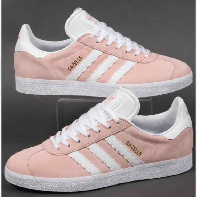 Adidas; Pink Gazelles