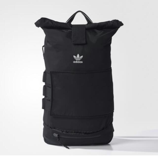 Adidas Roll up Backpack. Japanese Katakana Design. Sold Out In Store ... 6b9849cd0f266