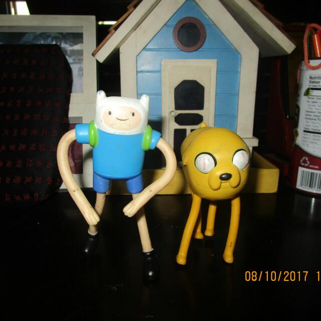 Adventure Time Happy Meal Toys SET 3