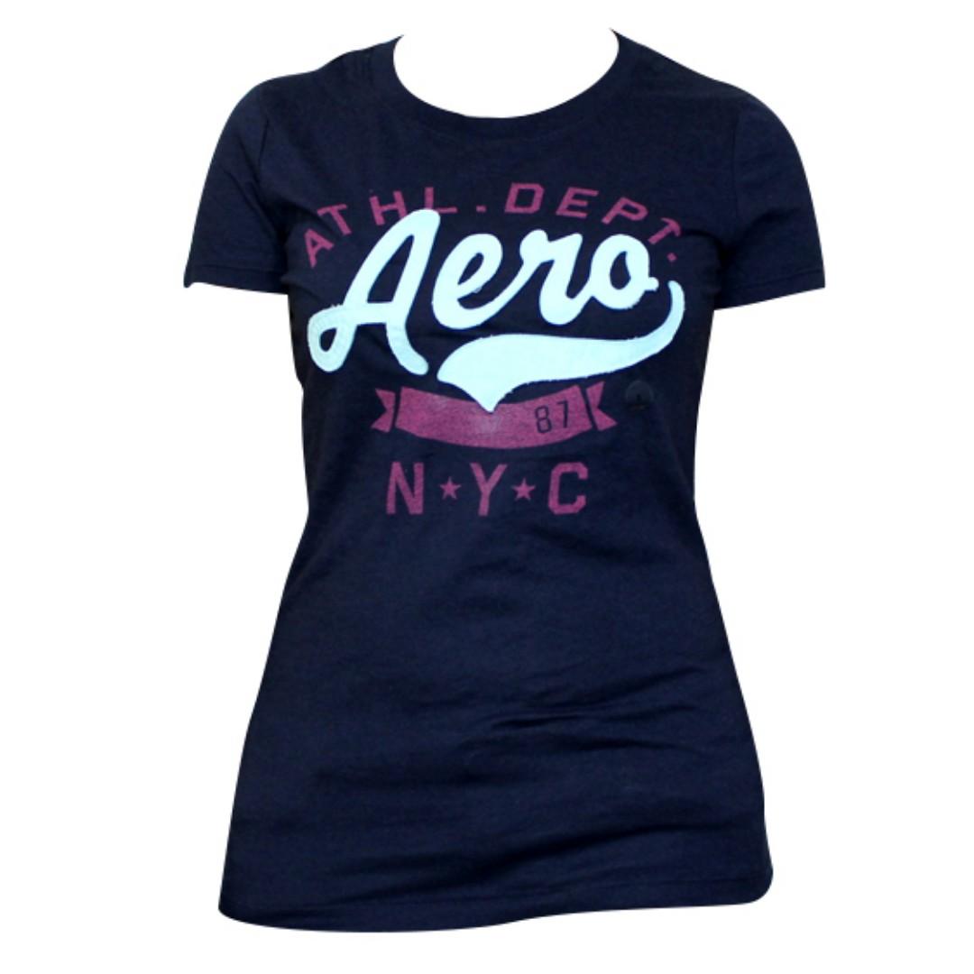 Aeropostale N.Y.C. T-Shirt for Ladies (Navy Blue)