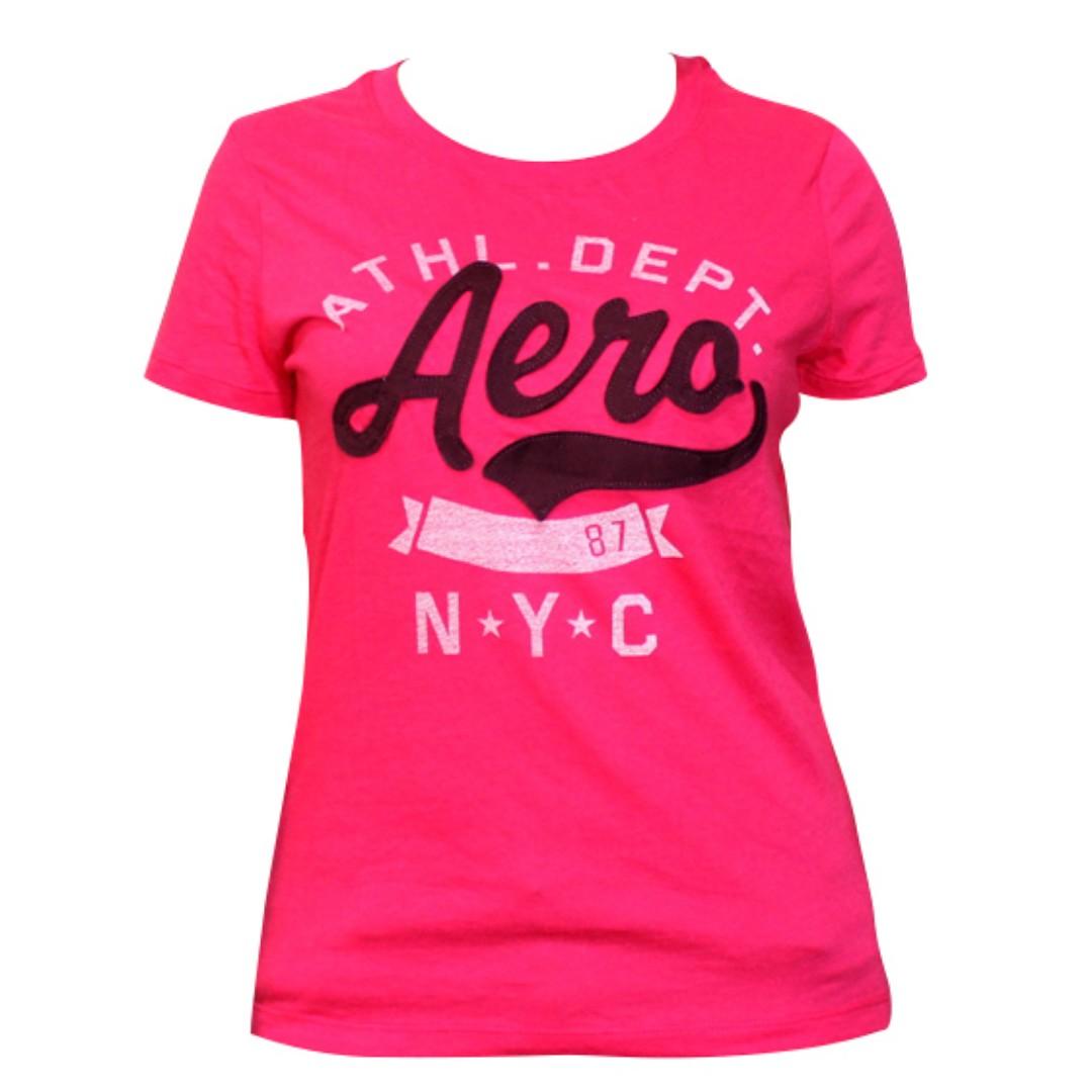 Aeropostale N.Y.C. T-Shirt for Ladies (Pink)