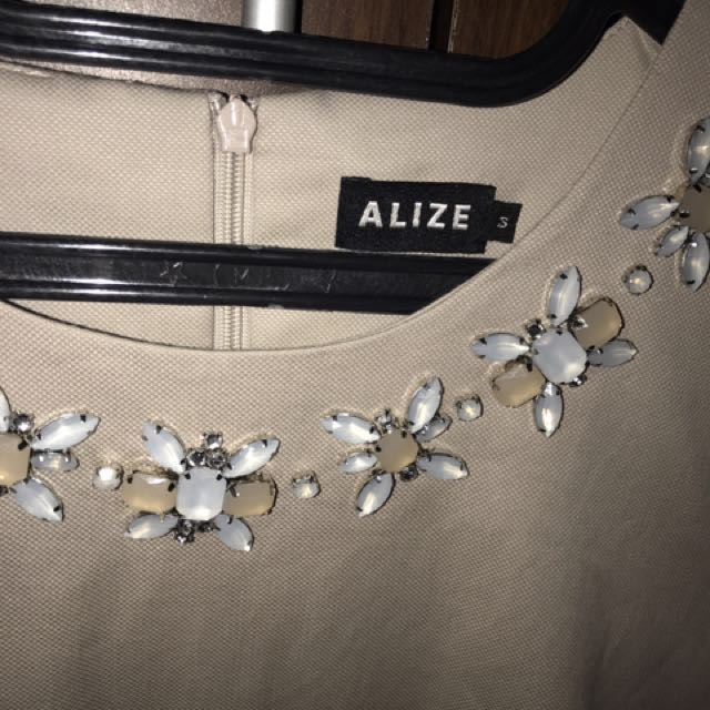 Alize Dress with beads size S - Reprice