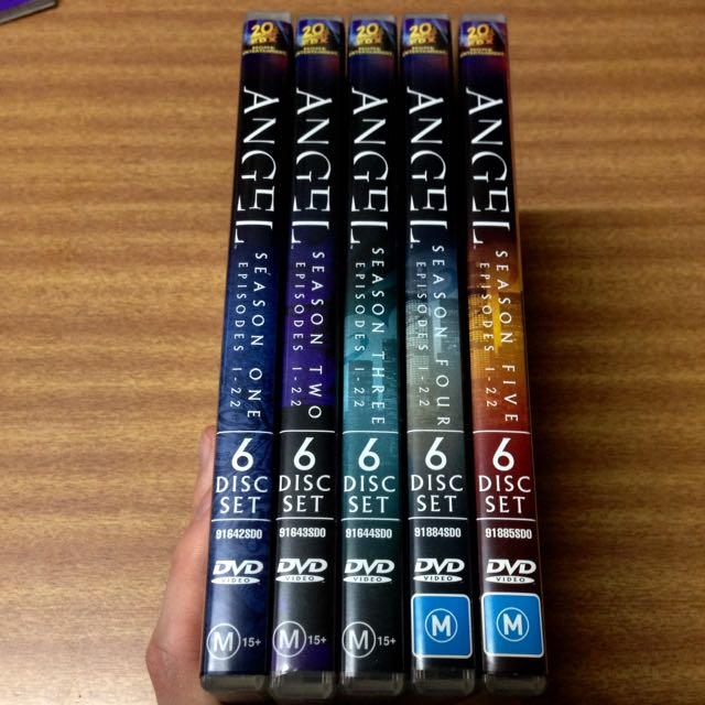 ANGEL: The Complete Series DVD Collection (30-Discs, 110 Episodes)