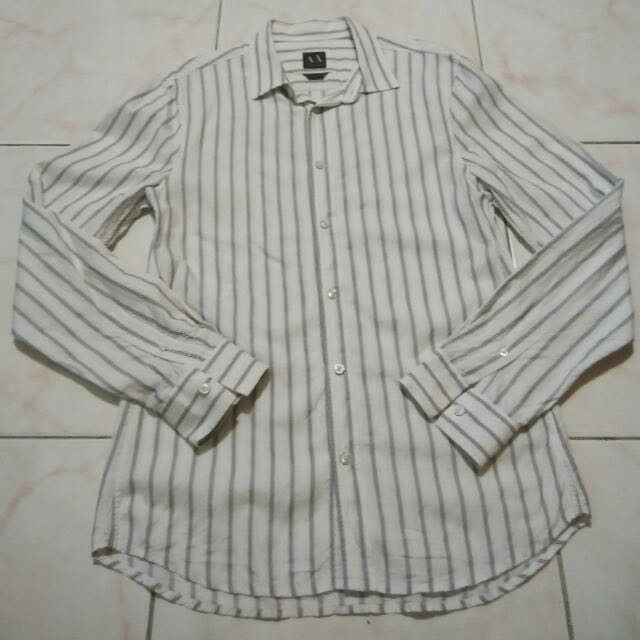 Armani Exchange Formal Shirt 100% Original