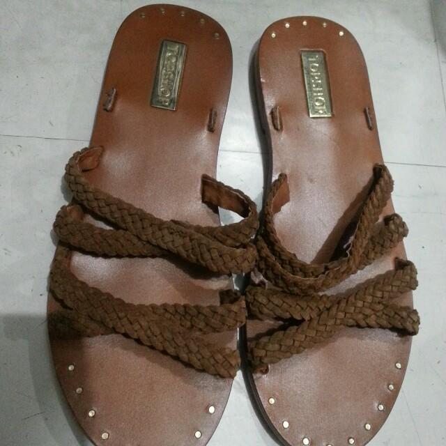 Authentic Topshop flat sandals