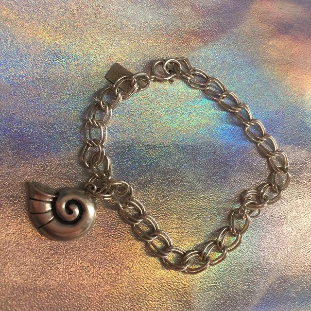Authentic vintage Disney sterling silver bracelet