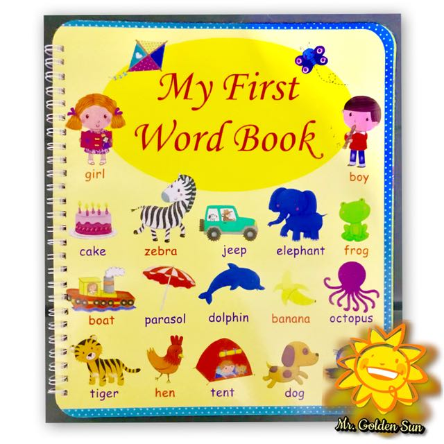 Baby First Word Book