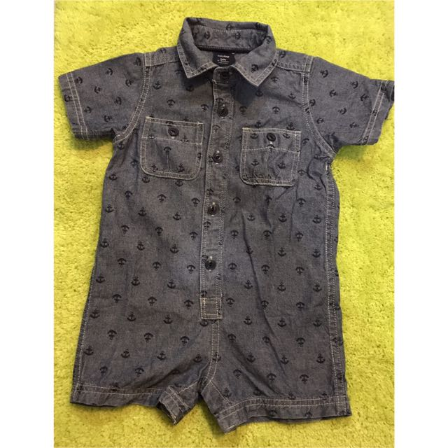 Baby Gap Denim Romper