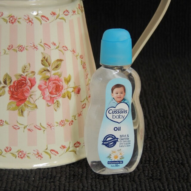 Baby oil cussons