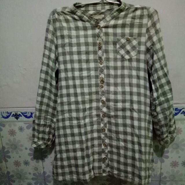 Baju kotak2 tartan