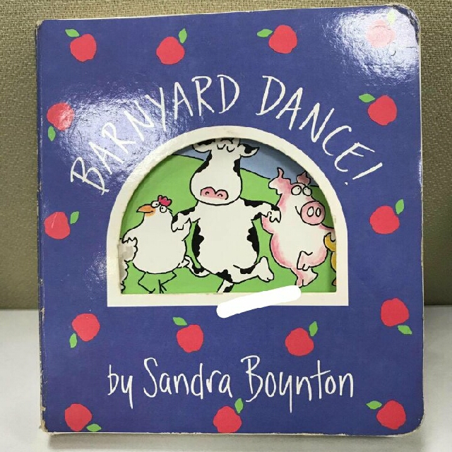Barynyard Dance (boardbook) by Sandra Boynton