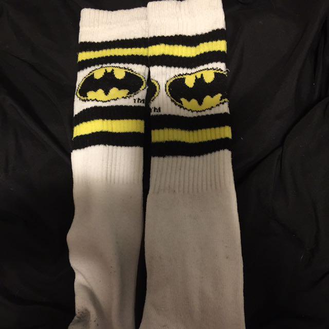 Batman high rise socks