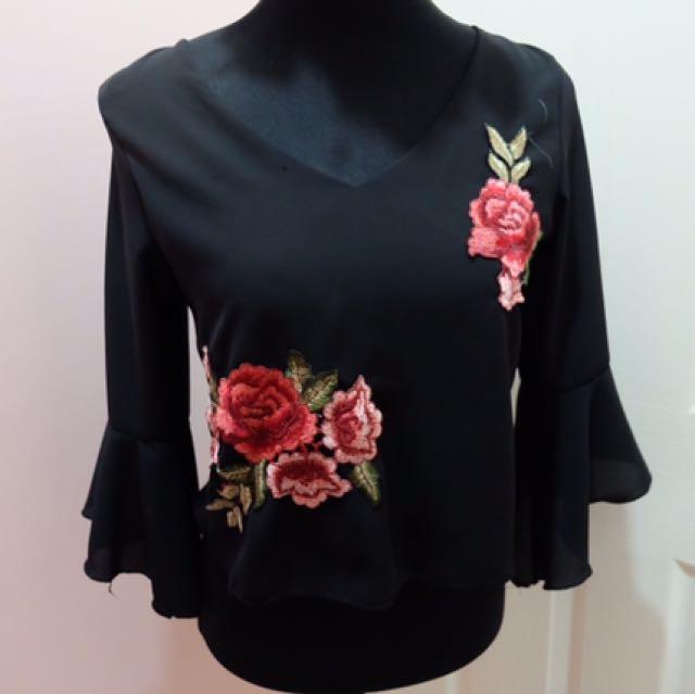 Black Blouse (embroid)