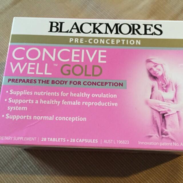 Blackmores Conceive Well Gold vitamin untuk hamil